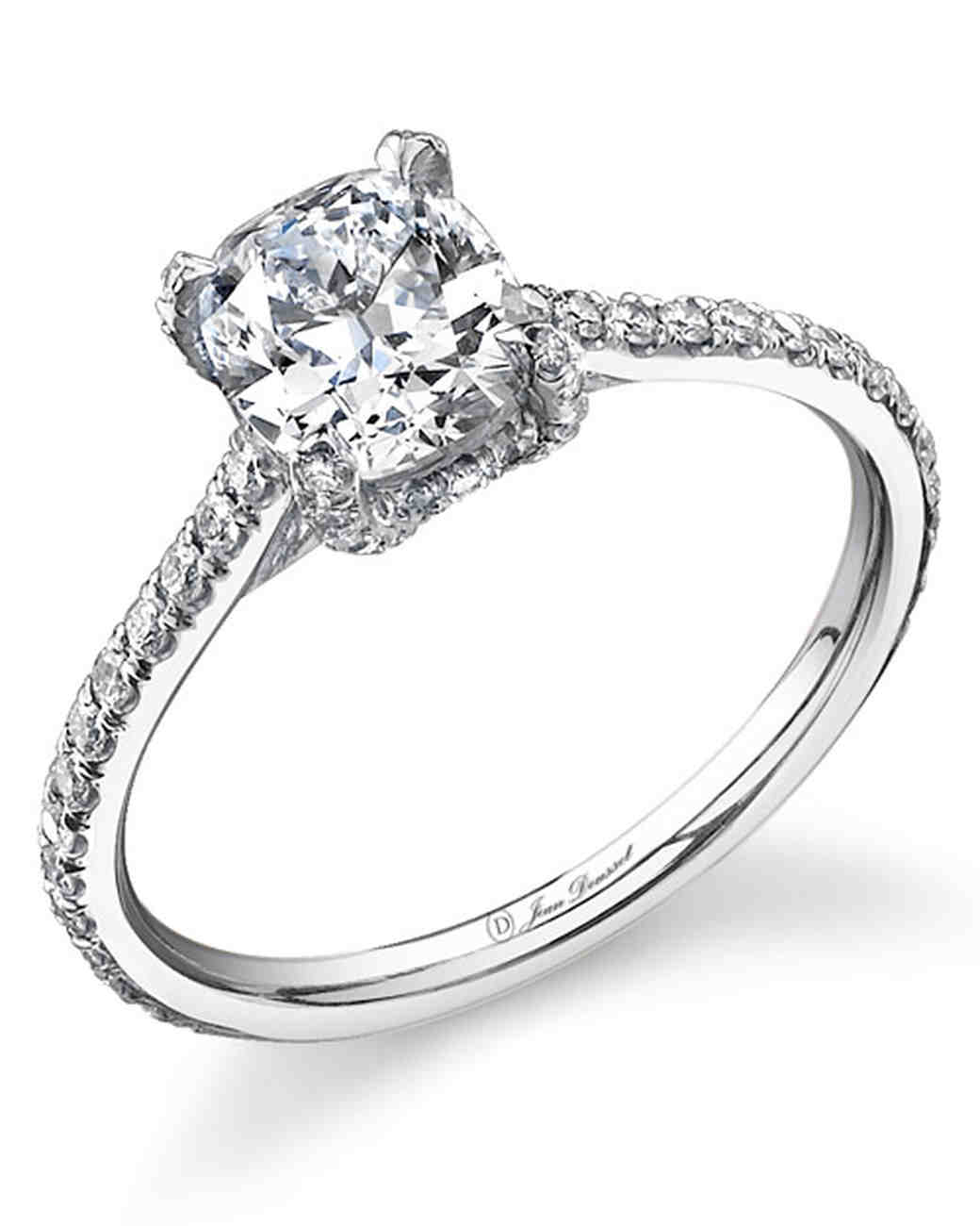 Cushion-Cut Engagement Ring from Jean Dousset
