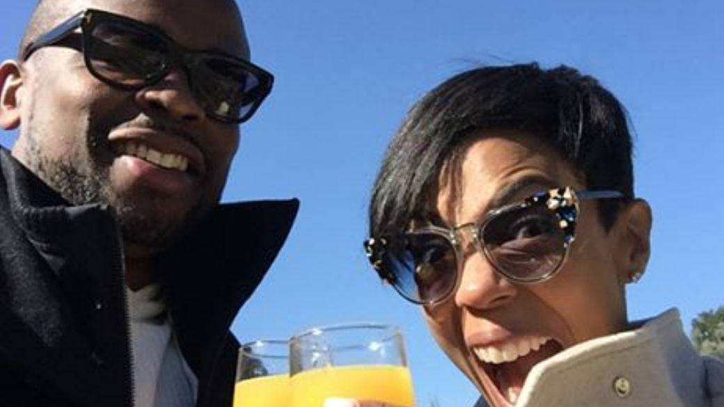 West Wing actor Dule Hill and Jazmyn Simon celebrate engagement
