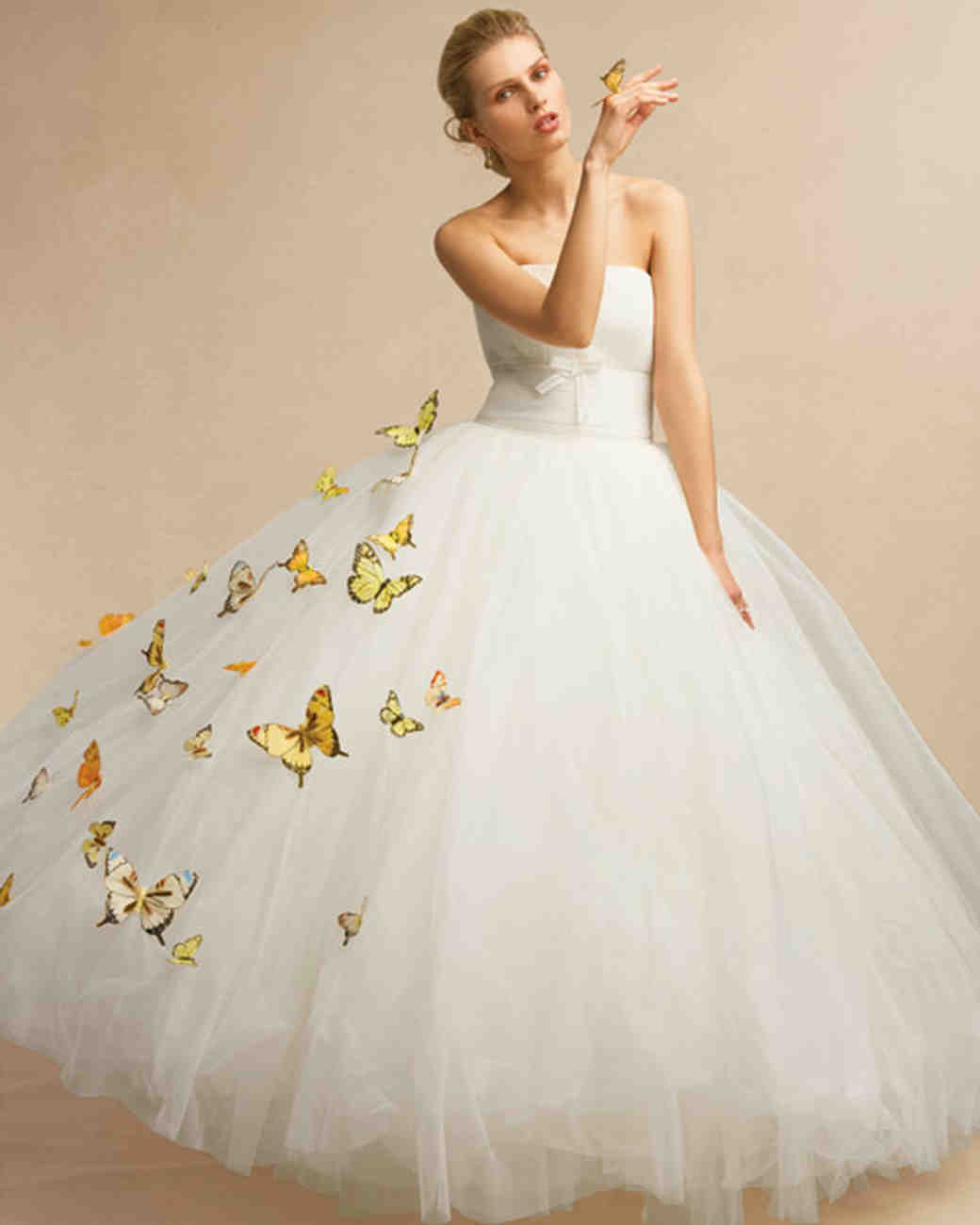 Wedding Dress Ideas: Butterfly-Inspired Wedding Ideas