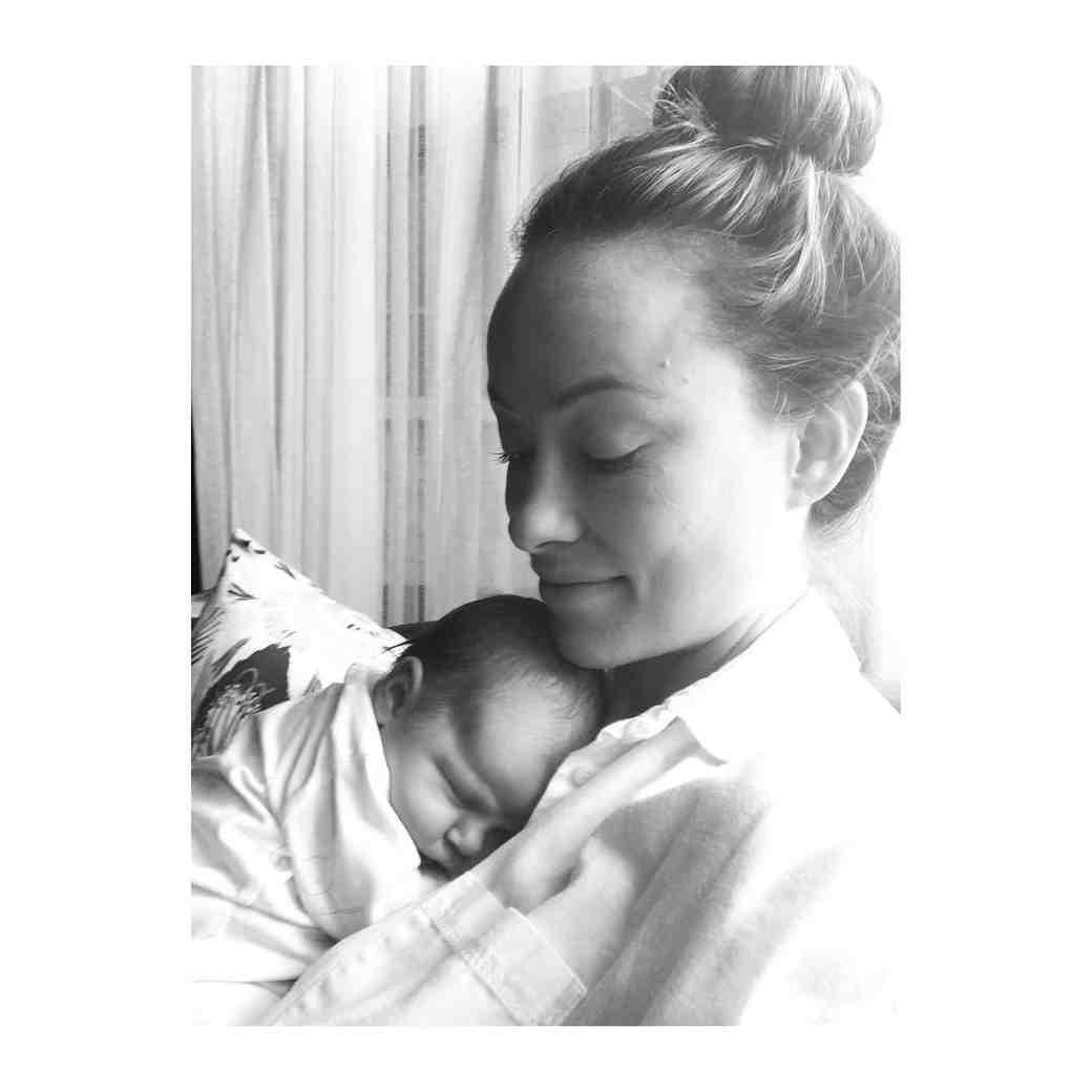 Olivia Wilde and Baby Daisy