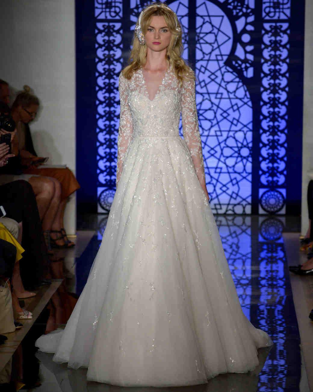 Reem Acra Wedding Dress: Reem Acra Fall 2016 Wedding Dress Collection