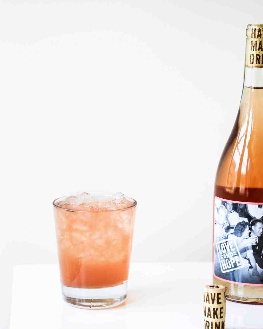 Sun Country Rosé Cocktail