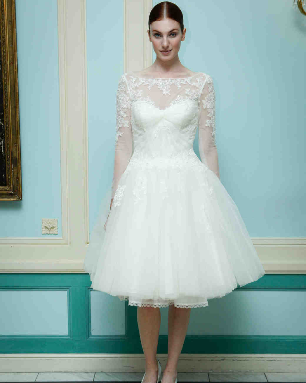 Truly zac posen fall 2016 wedding dress collection for Truly zac posen wedding dress with sequin detail