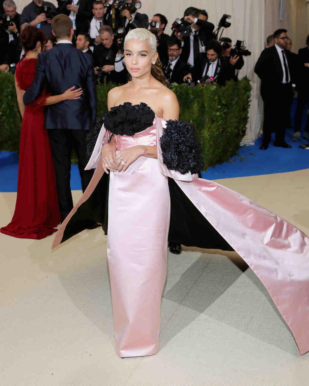 Zoe Kravitz Met Gala 2017 Dress
