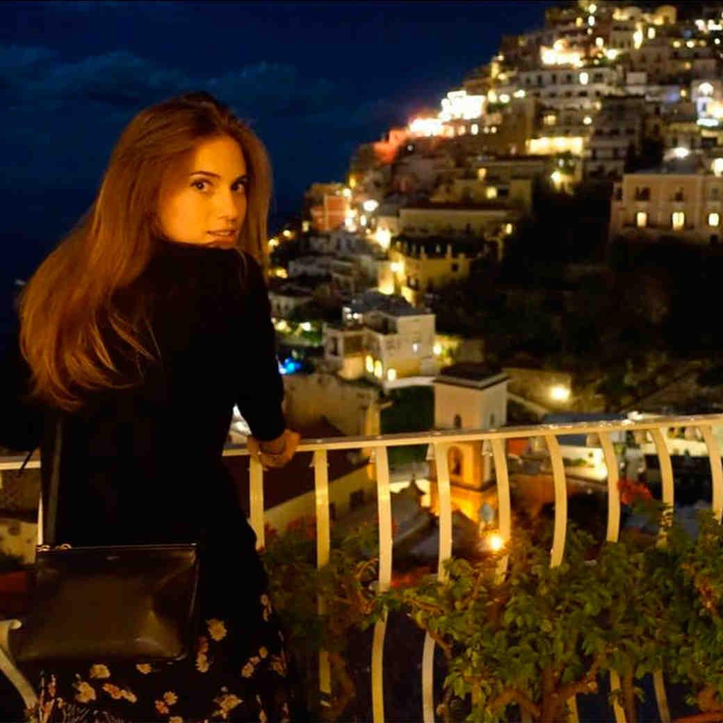 Go Inside Allison Williams's Italian Honeymoon