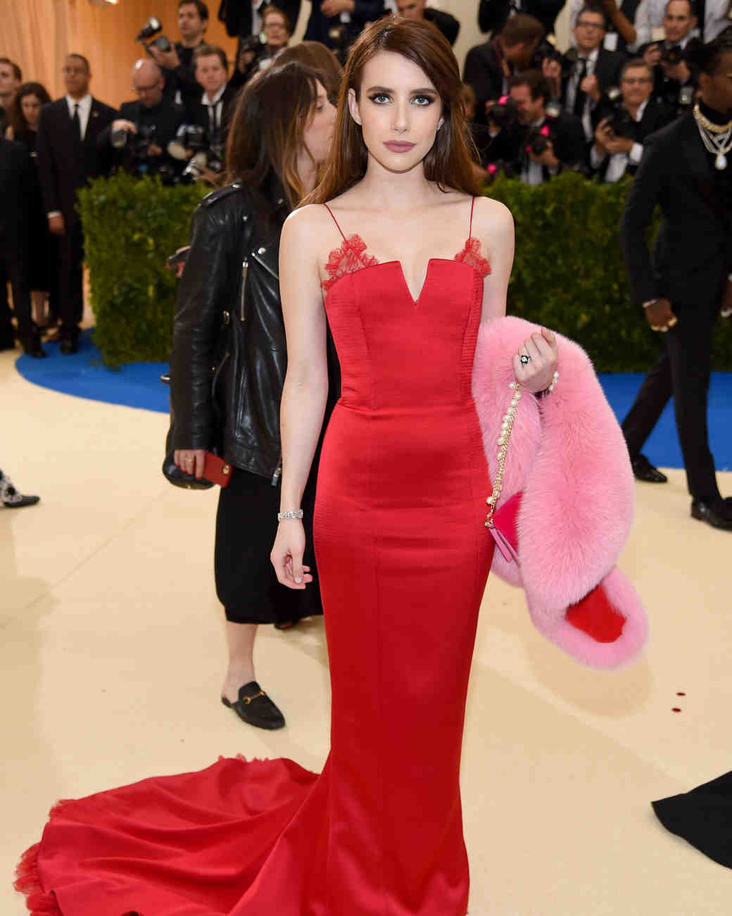 Emma Roberts Meta Gala 2017 Dress