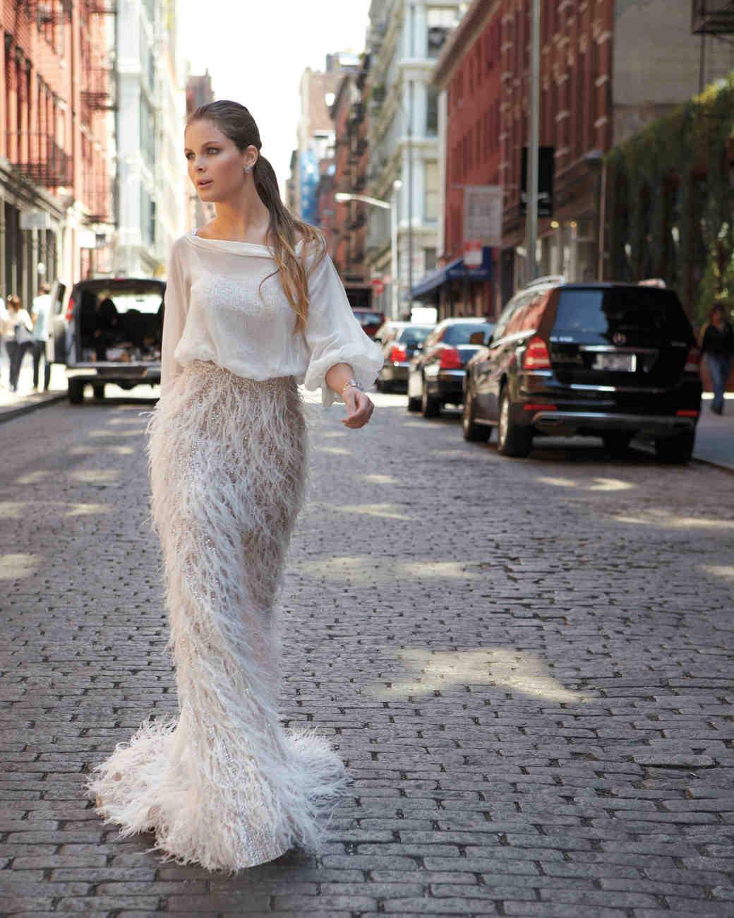 Modern Wedding Dresses: Martha Stewart Weddings