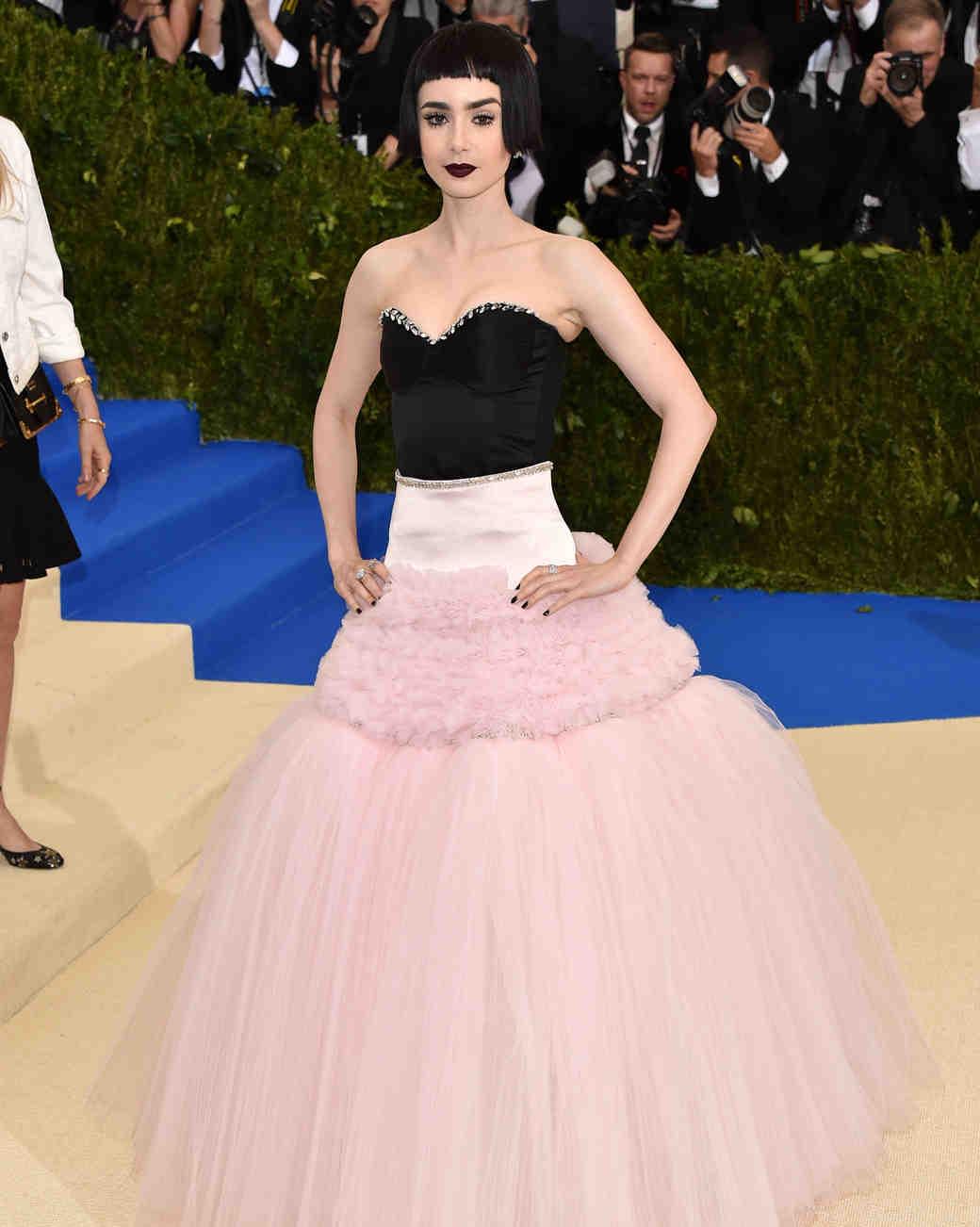 Lily Collins Met Gala 2017 Dress