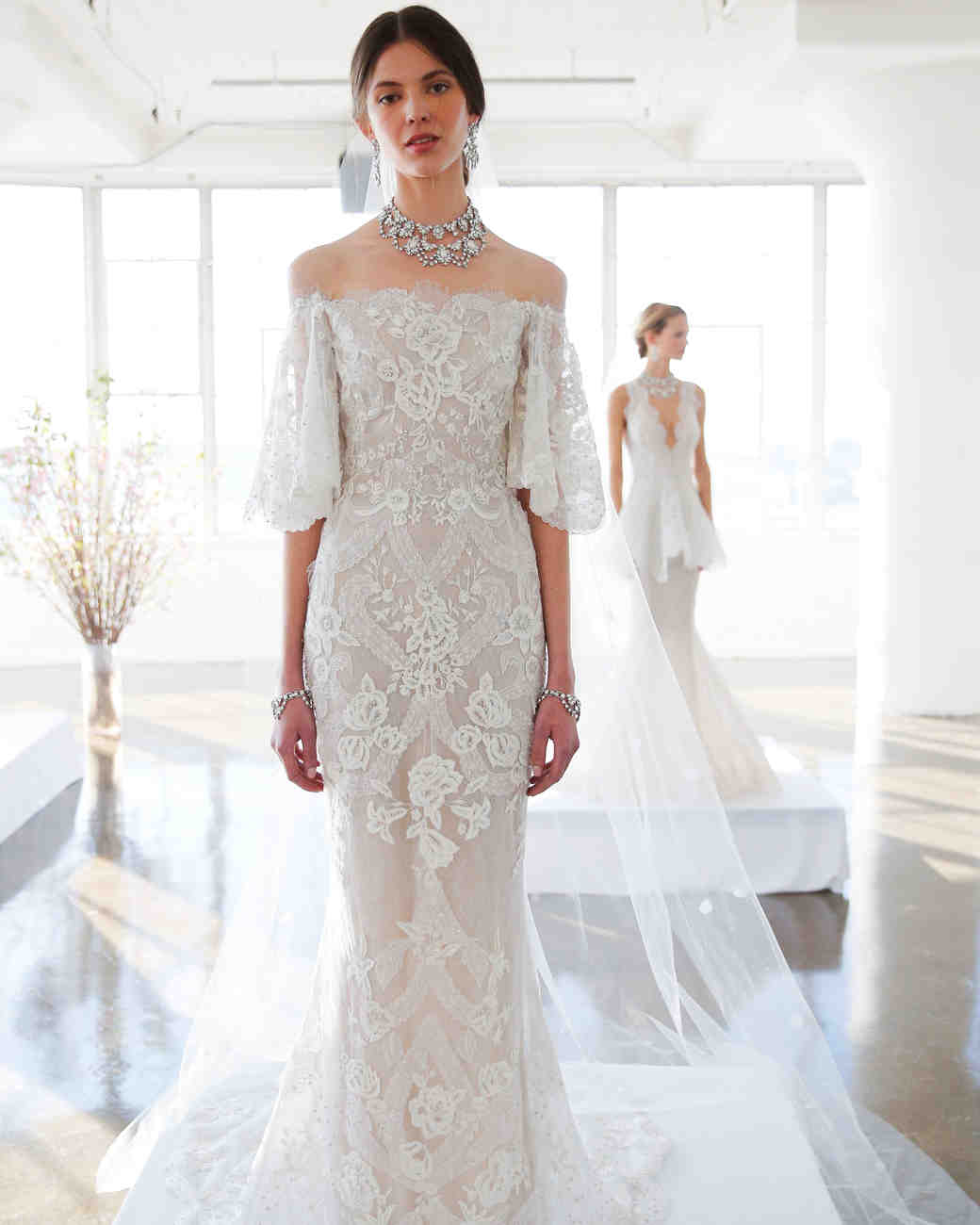 marchesa spring 2017 wedding dress collection martha stewart weddings