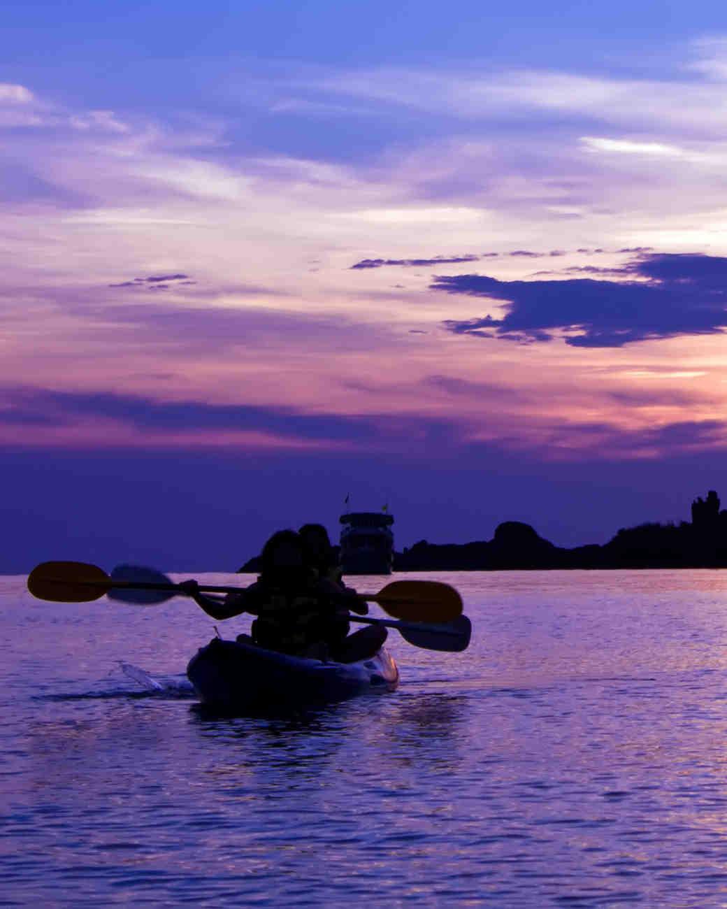 Night Kayaking in Puerto Rico