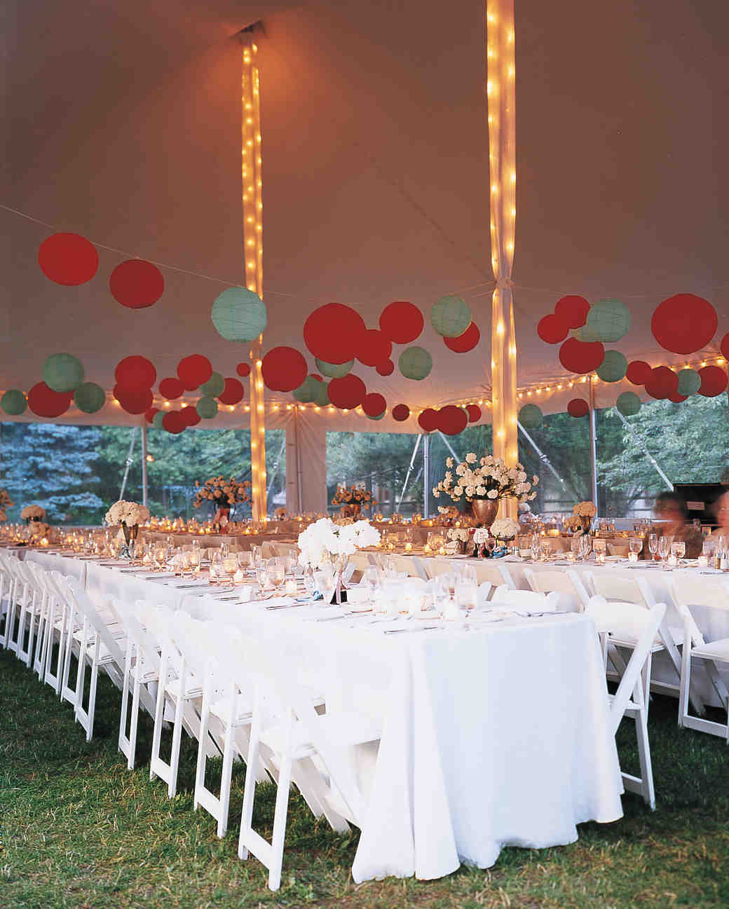 Wedding Party Decorations: 33 Tent Decorating Ideas To Upgrade Your Wedding Reception