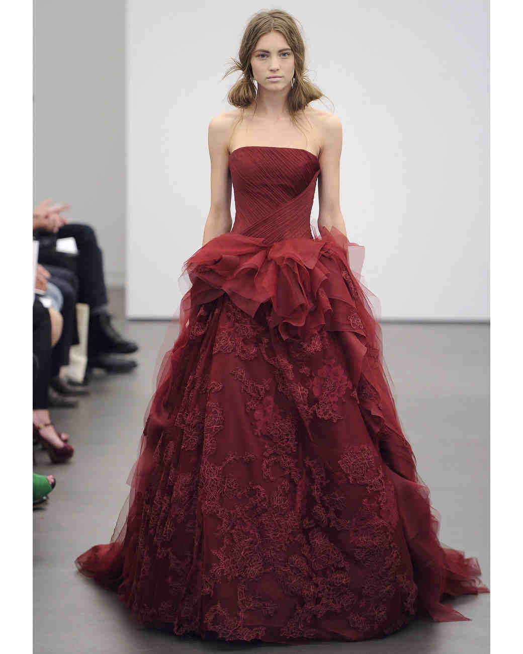 Wedding Gowns With Red: Red Wedding Dresses, Spring 2013 Bridal Fashion Week