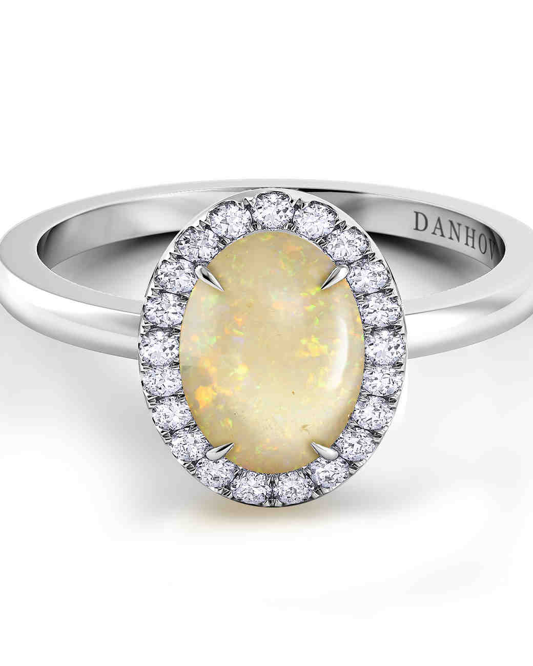 Danhov Opal Engagement Ring
