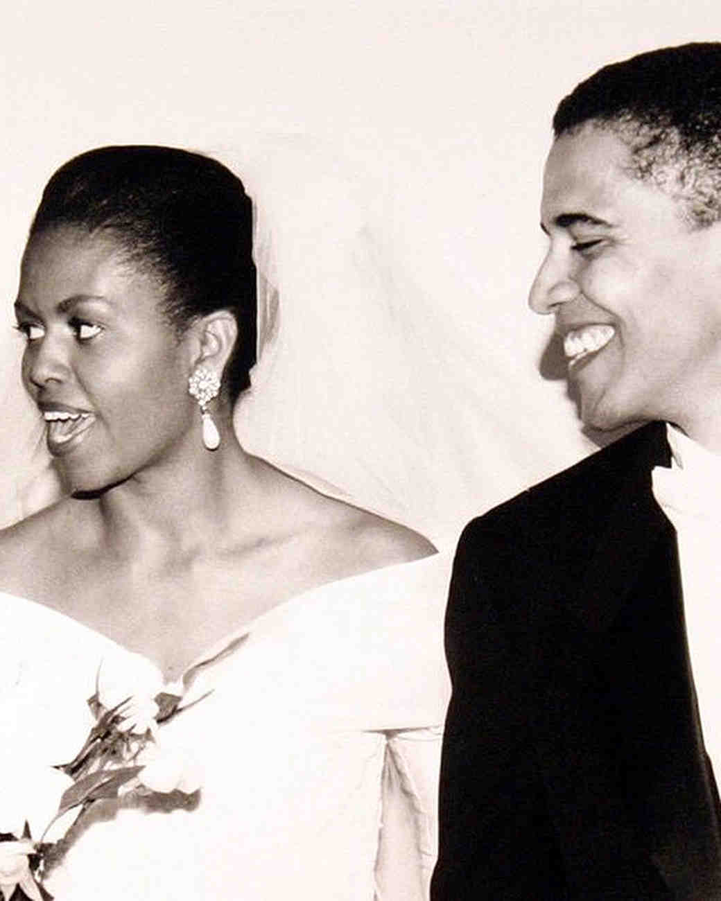 Michelle and Barack Obama's Wedding