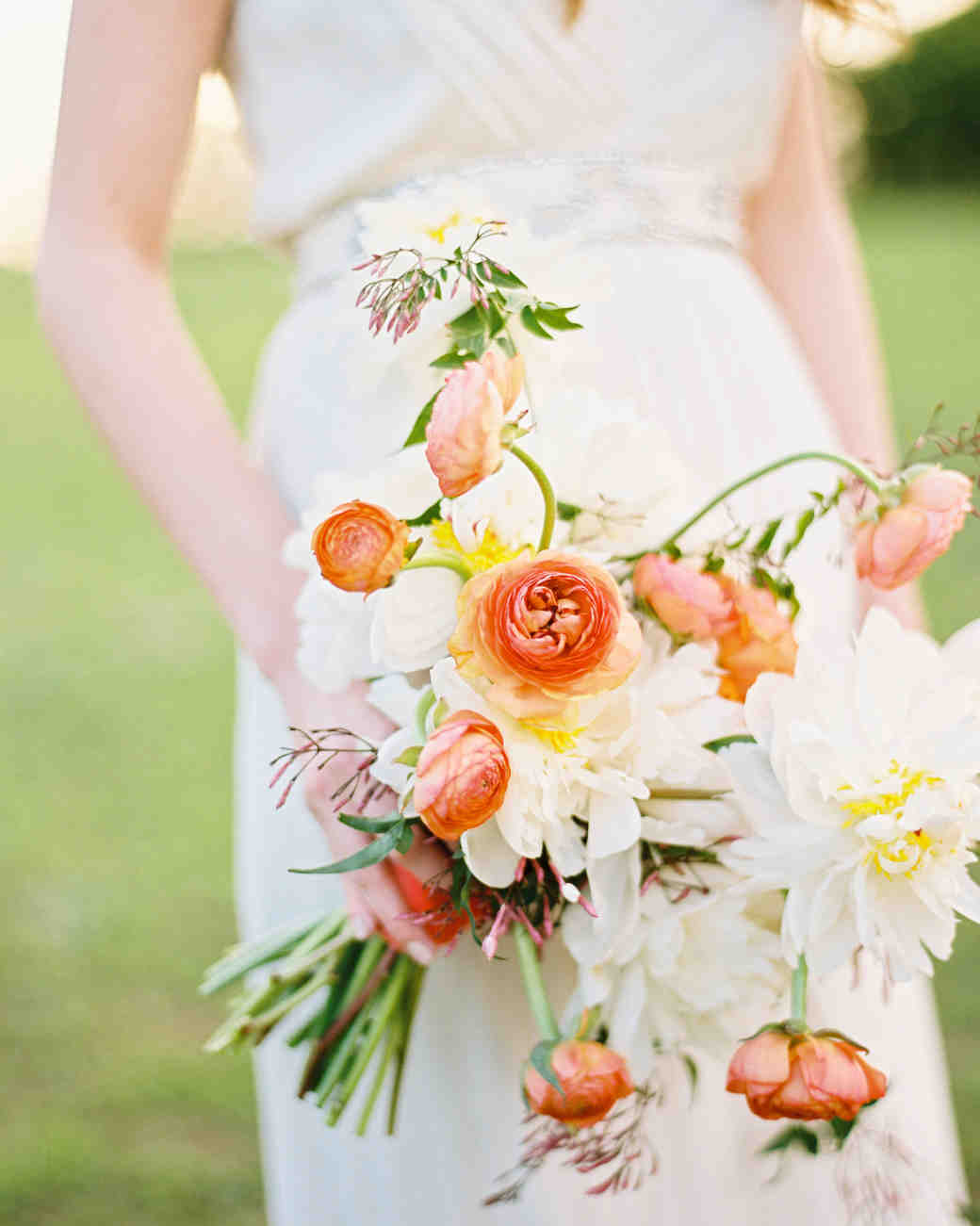 Trailing Bouquet with Pink Ranunculus