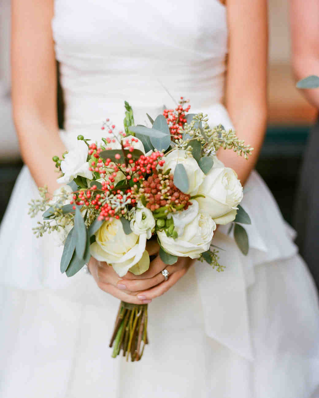 Christmas Wedding Bouquets Ideas : Absolutely gorgeous winter wedding bouquets martha