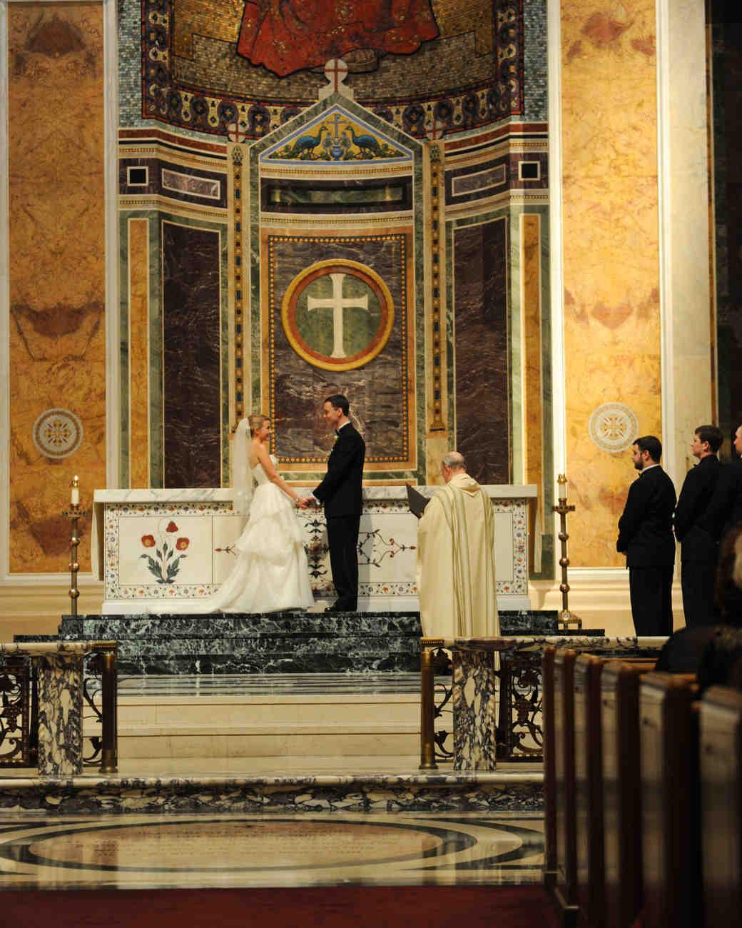 Old Testament Wedding Readings: A Formal Christmastime Wedding In Washington, D.C