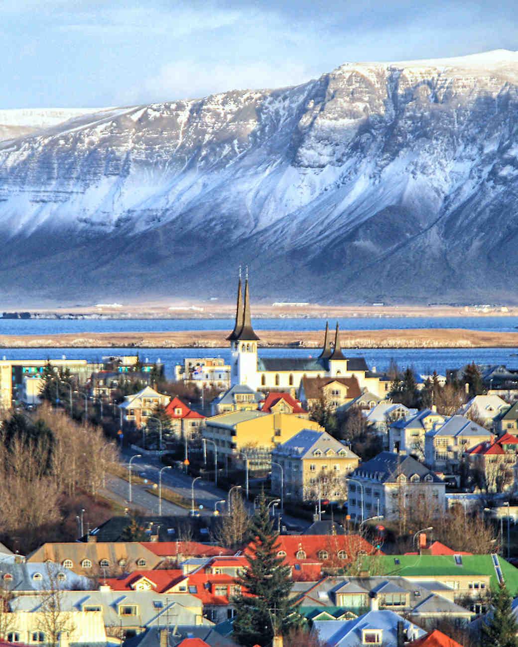 Reykjavik, Iceland City Center
