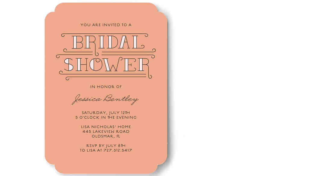 6 Key Pieces of Information to Include on Your Bridal Shower Invitations