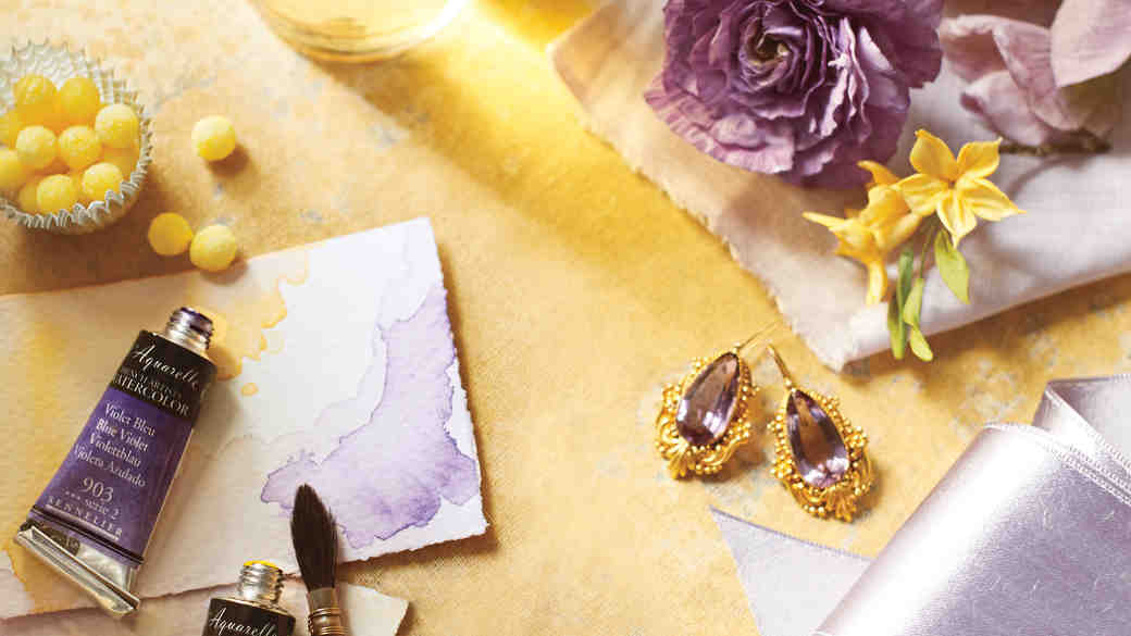8 Lavender and Yellow Ideas to Make an Impressionistic Impact at Your Wedding