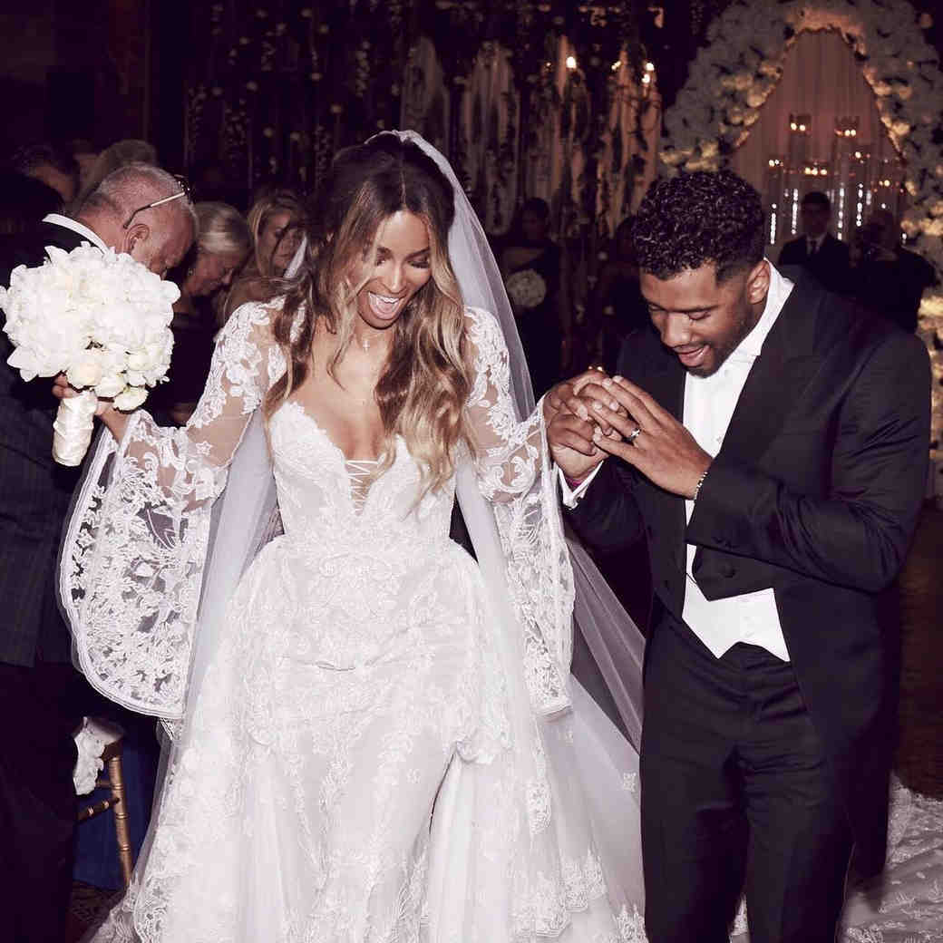 Ciara and Russell Wilson Are Officially Married!
