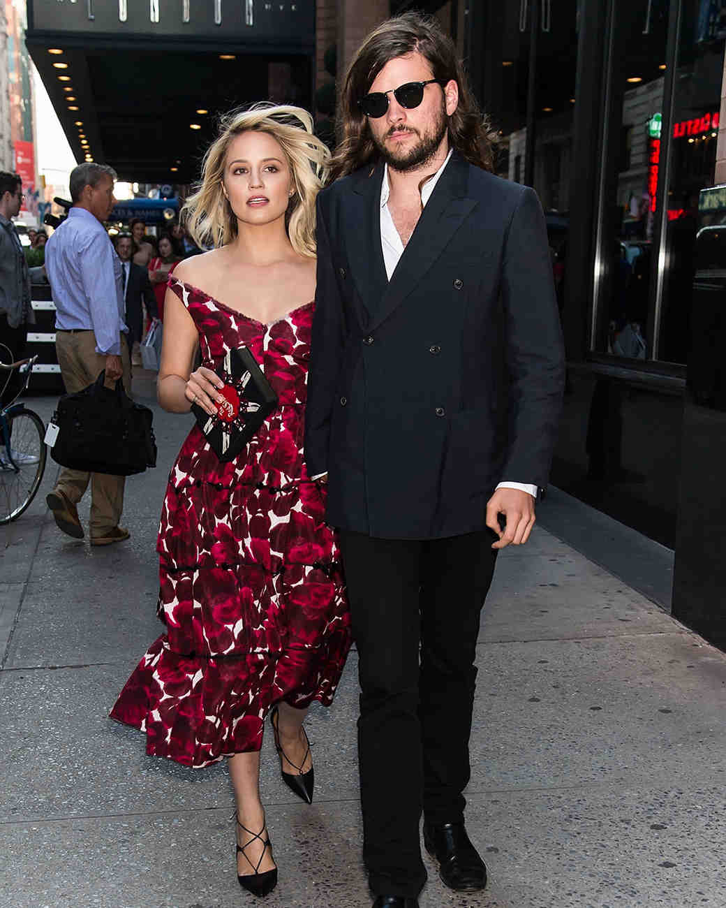 Dianna Agron and Winston Marshall Are Married!