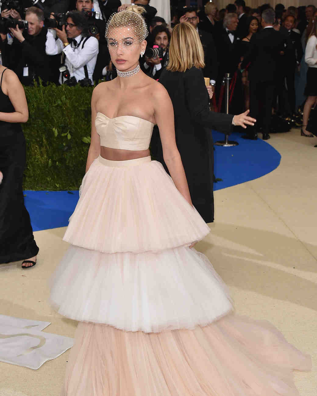 Hailey Baldwin Met Gala 2017 Dress