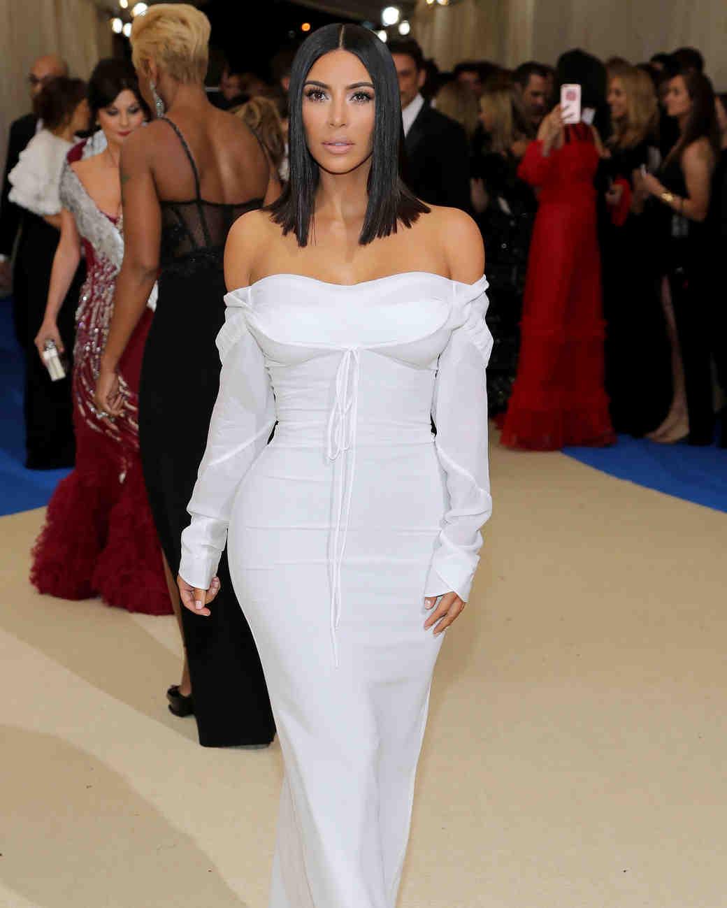 Kim Kardashian Met Gala 2017 Dress