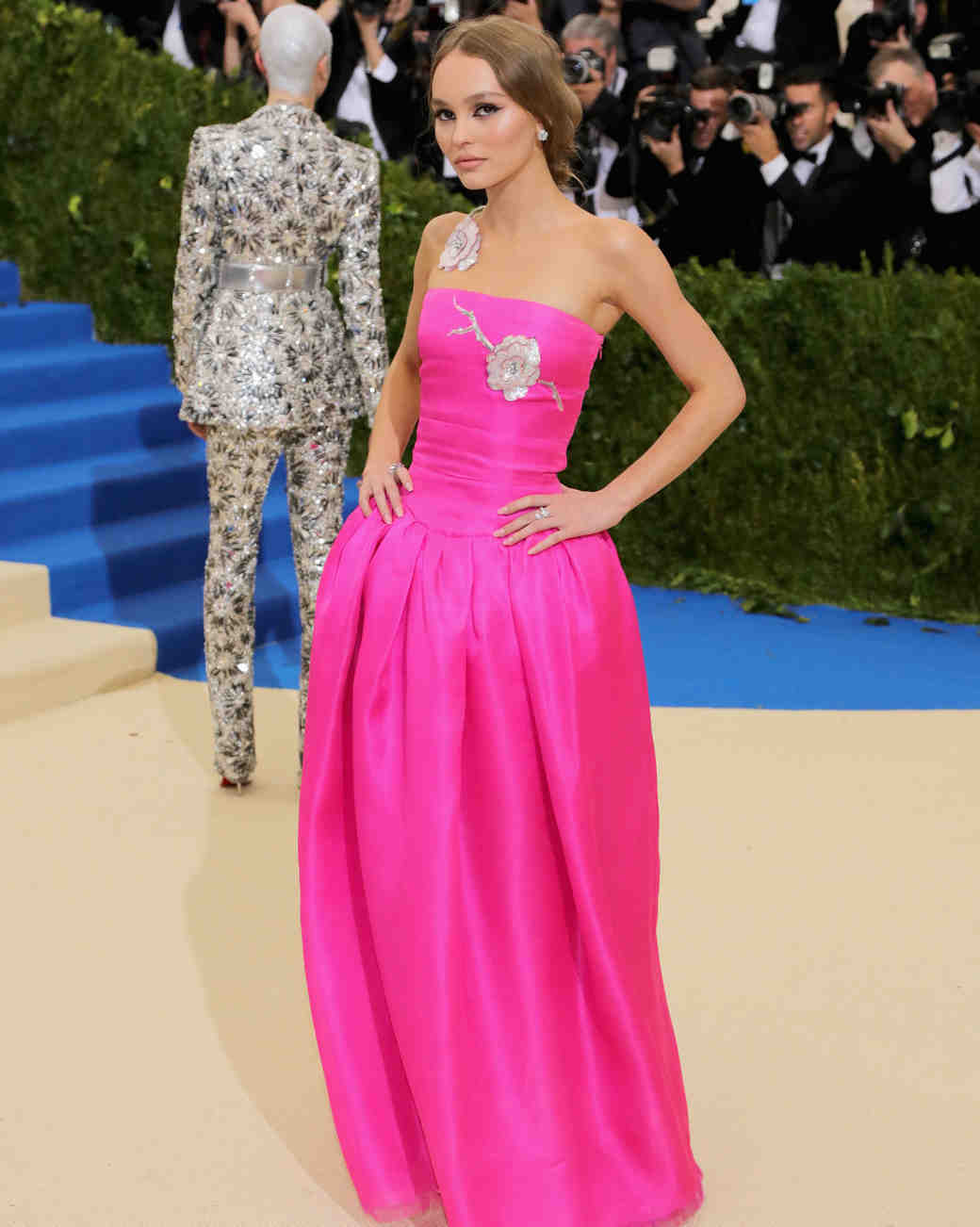 Lily-Rose Depp Met Gala Dress 2017