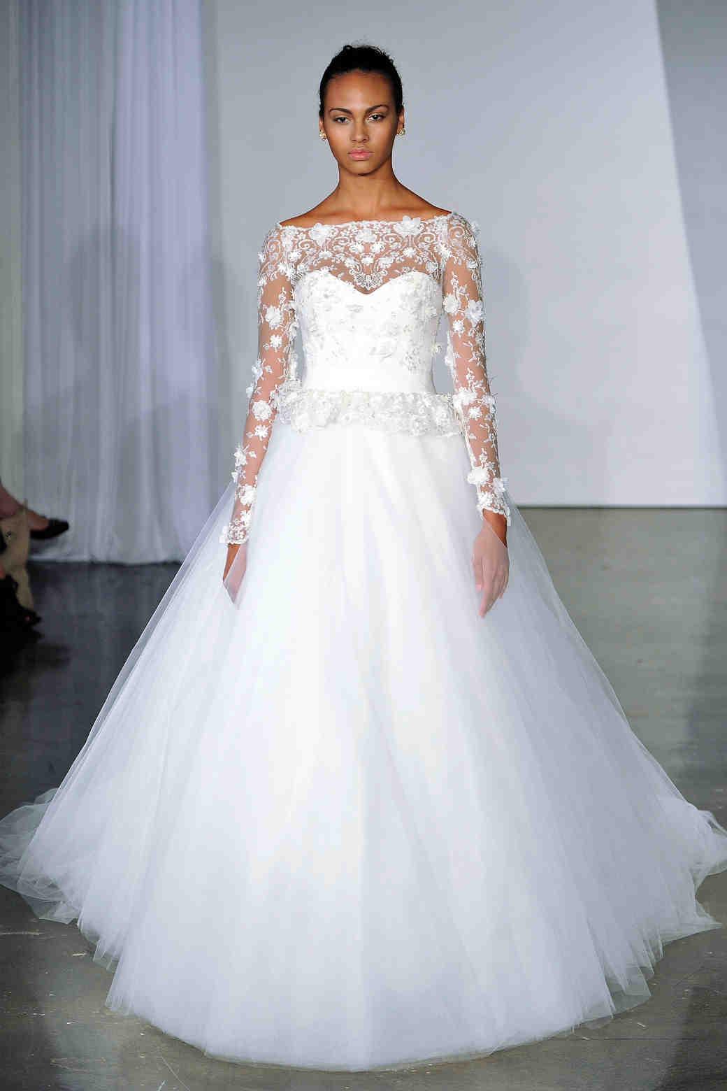 Long Sleeve Wedding Dresses Fall 2013 Martha Stewart