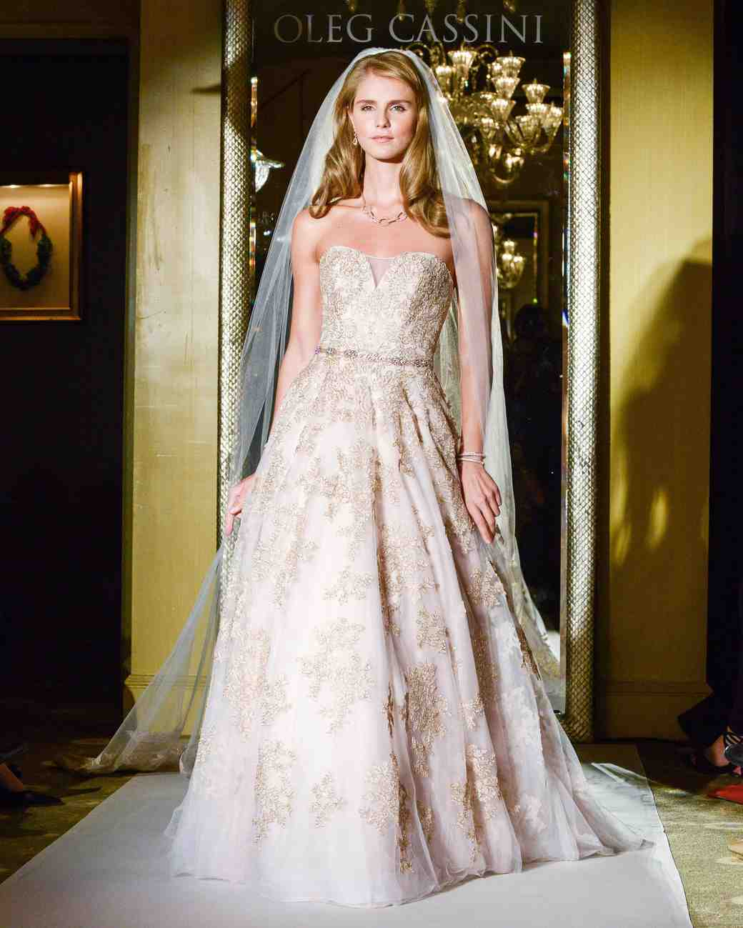 Oleg cassini fall 2017 wedding dress collection martha for Wedding dress designer oleg cassini