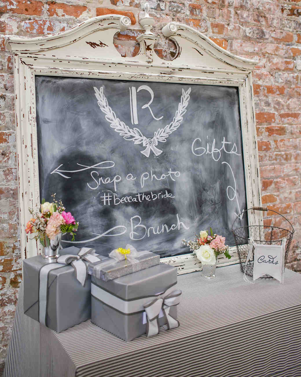 Gifts For Wedding Party Etiquette: Rebecca's French-Themed Shower In New Orleans