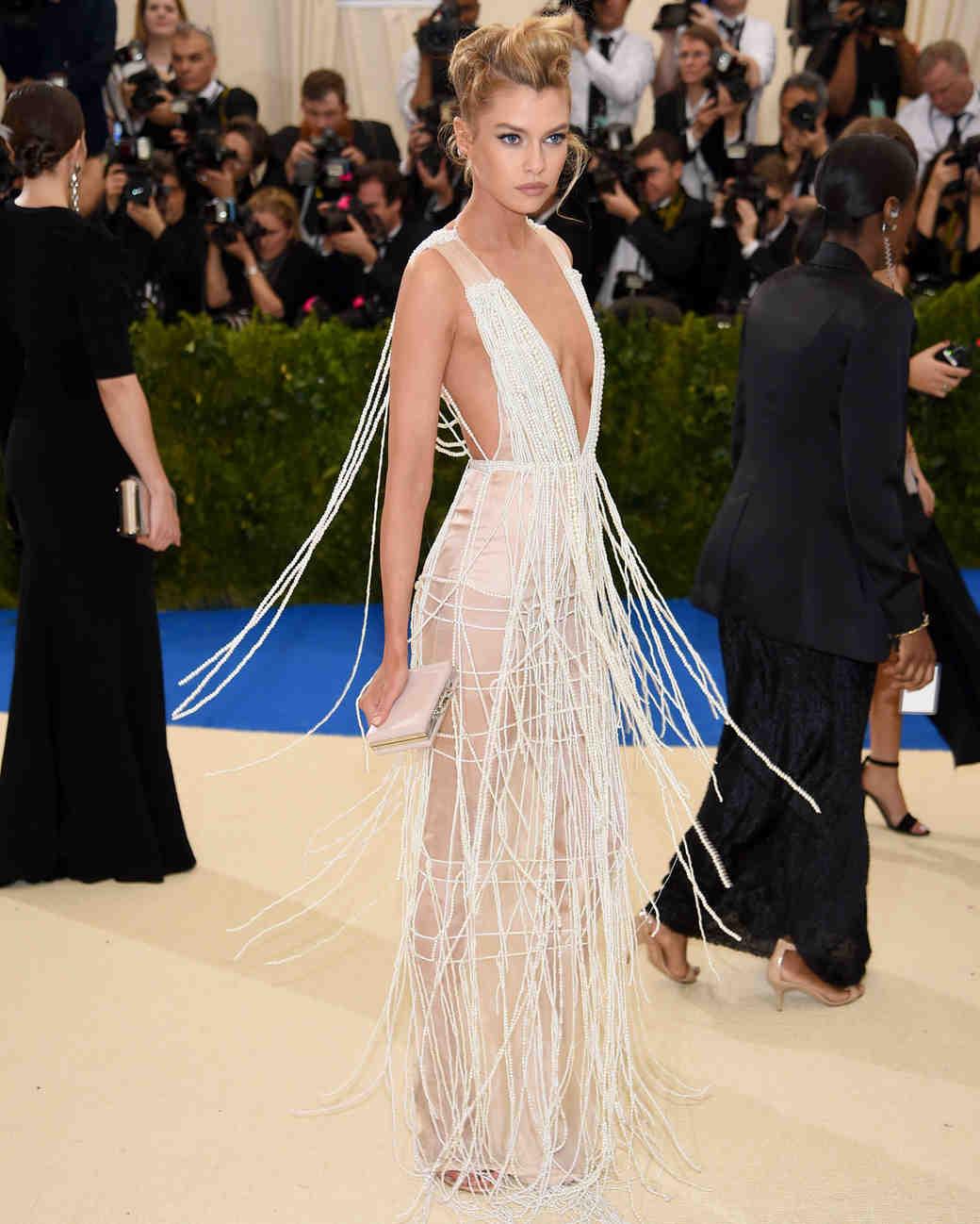 Stella Maxwell Met Gala 2017 Dress