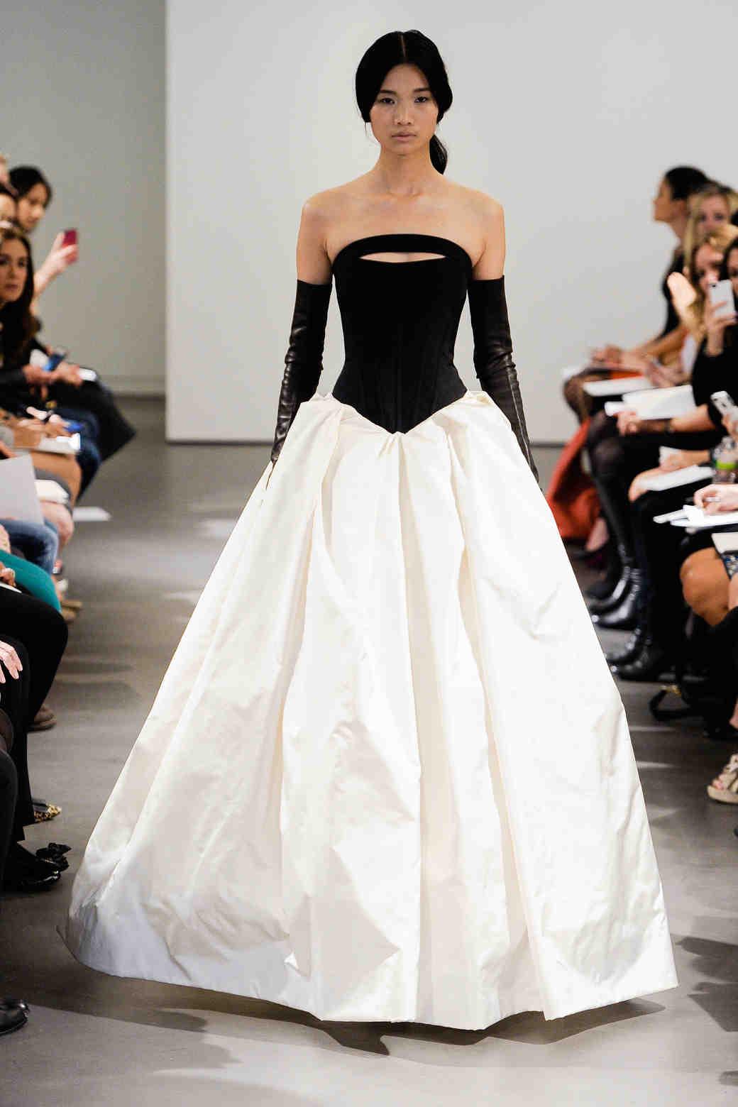 Chic Black Wedding Dress for the Edgy Bride | Martha Stewart Weddings