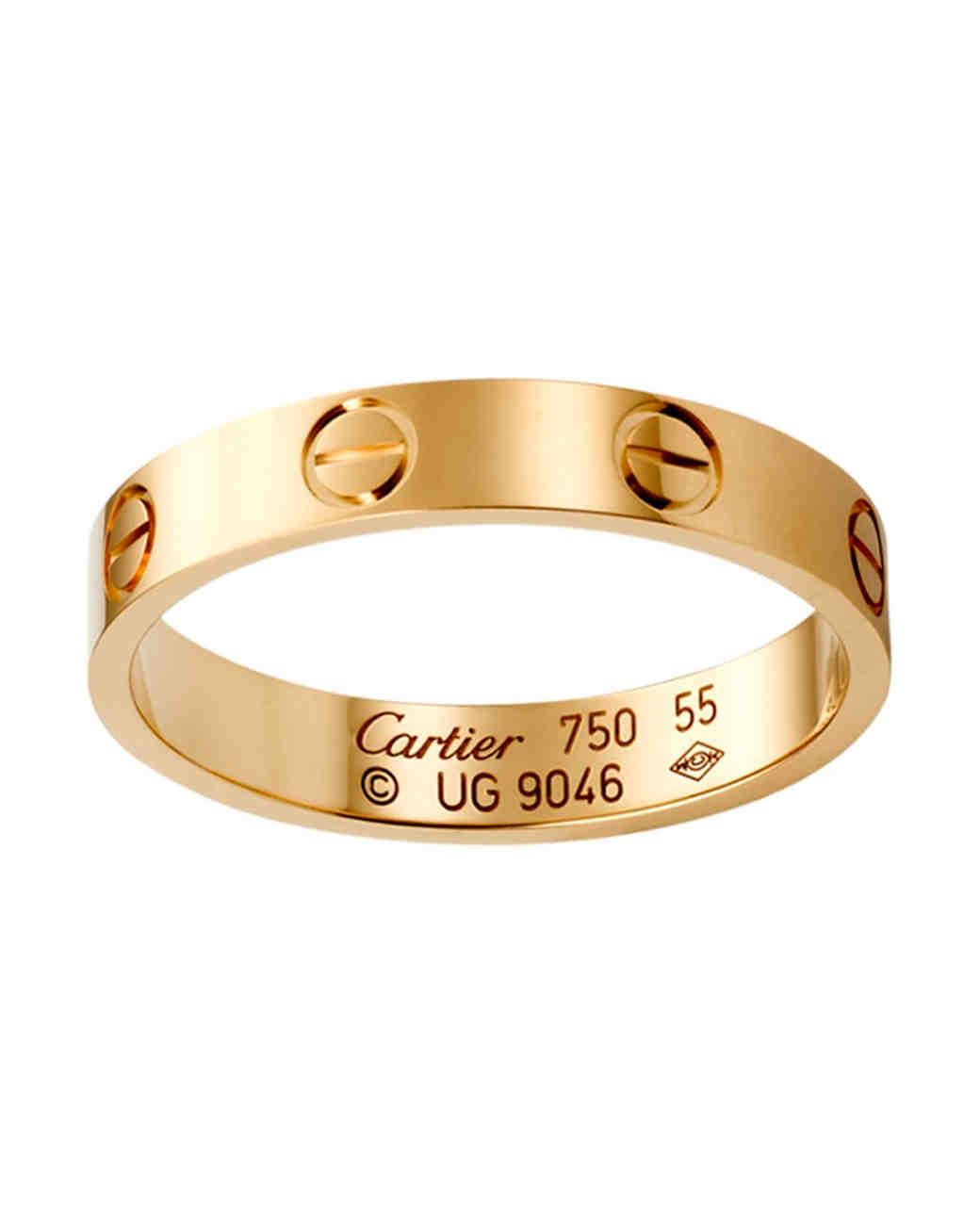 gold wedding bands women weve taken shine to women wedding band Cartier