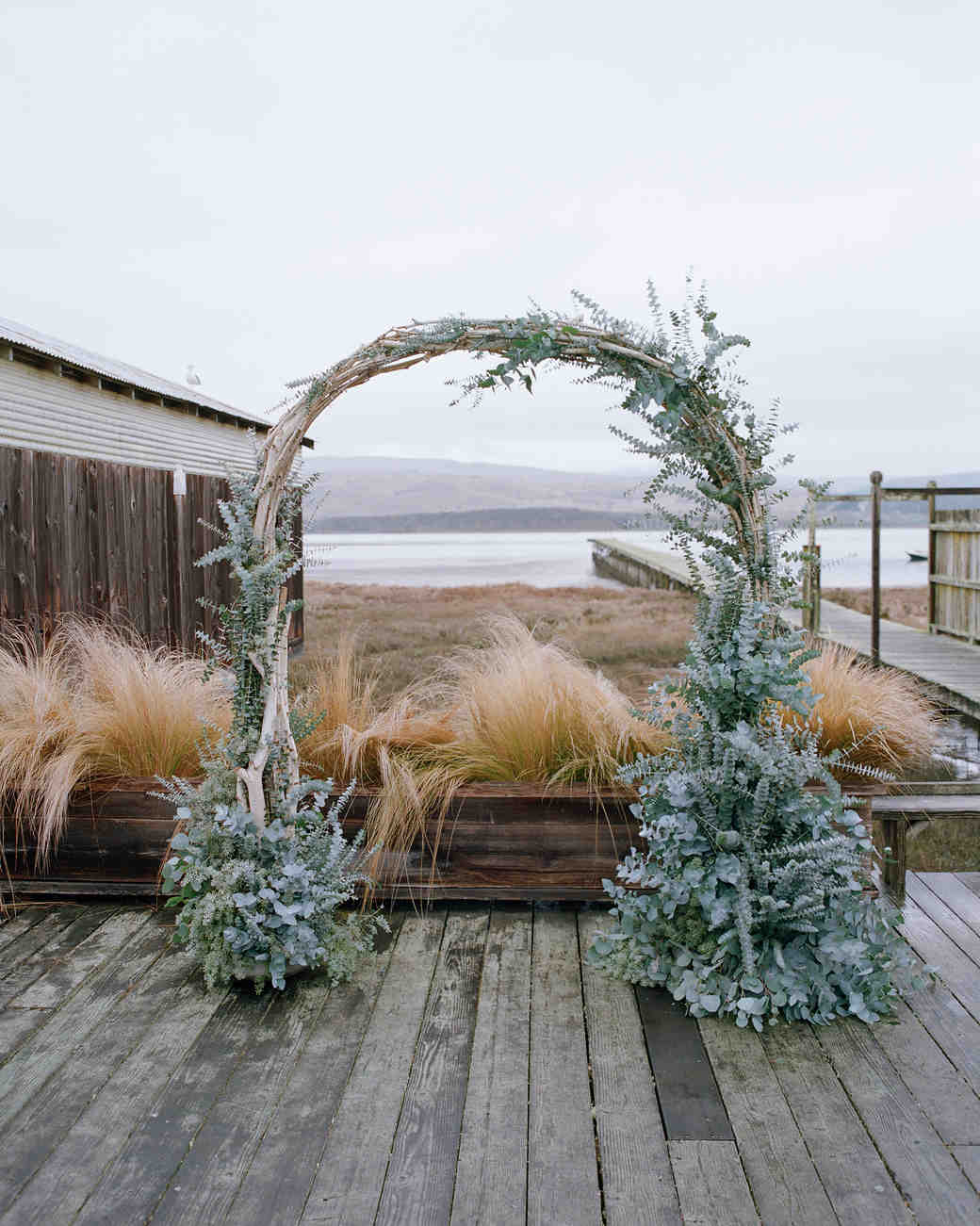 Beachy Branch Wedding Arch
