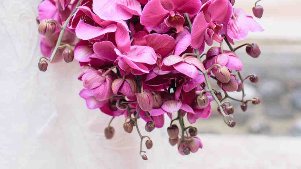 Monochromatic Wedding Bouquets