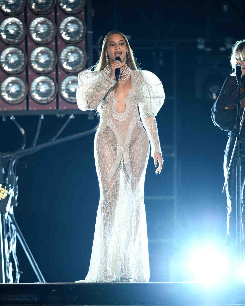 Beyonce CMAs Stage Dress