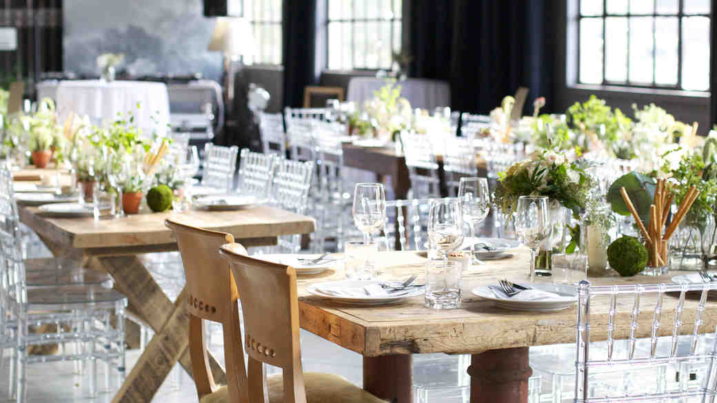Everything You Need to Know About Renting Reception Tables
