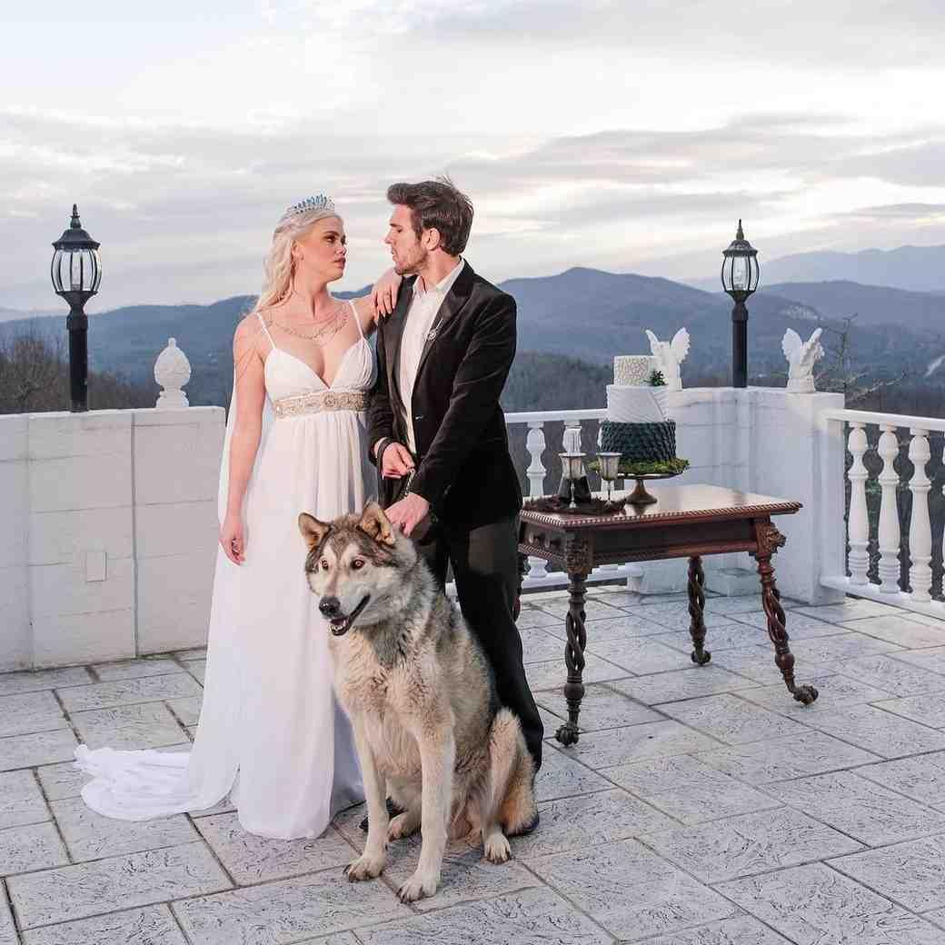 Game of Thrones Wedding Inspiration Shoot