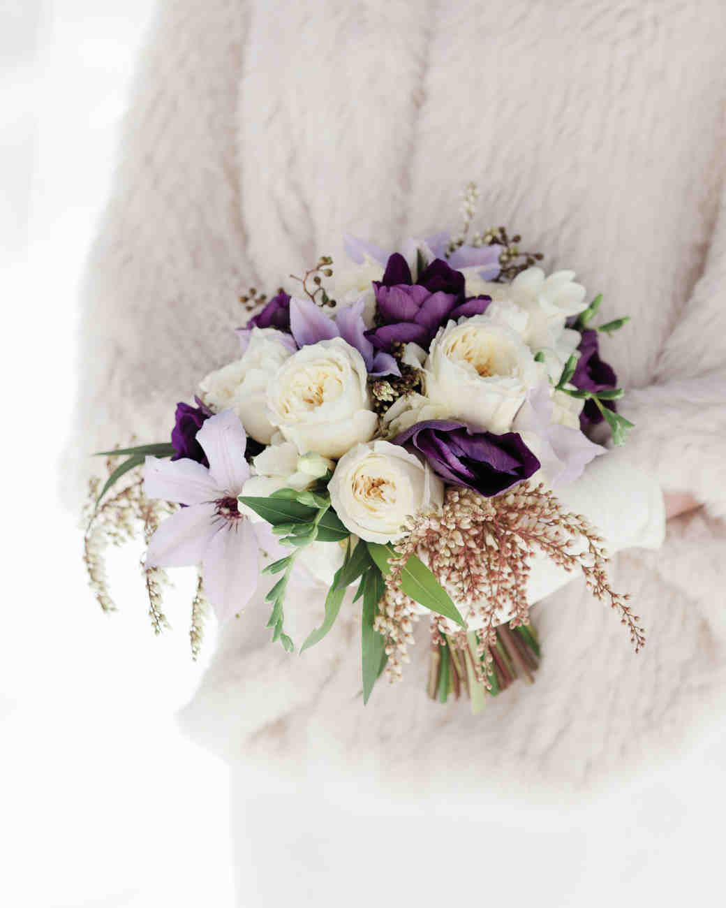 12 stunning bouquets for a winter wedding eventful planning winter weddings mightylinksfo
