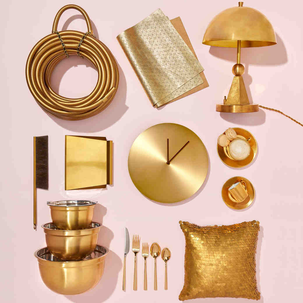 gold home good items