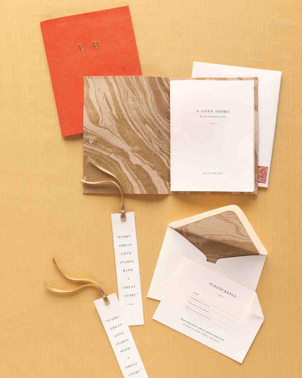 Martha Stewart Fabric Book Cover : Elegant marbled wedding ideas martha stewart weddings