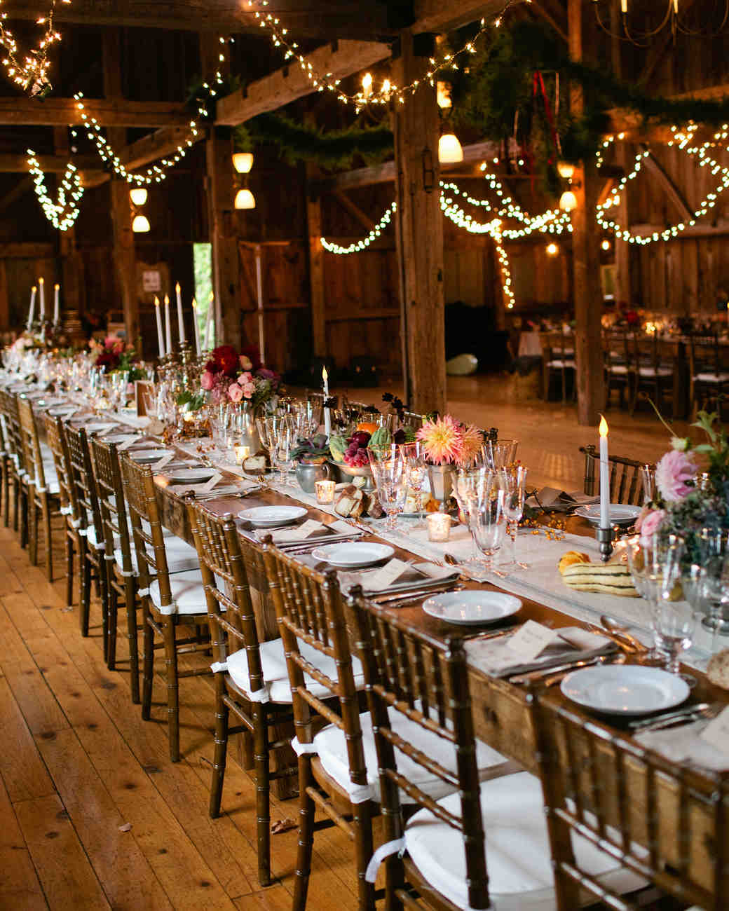 Fall Barn Wedding Ideas: A Rustic Fall Barn Wedding In Maine