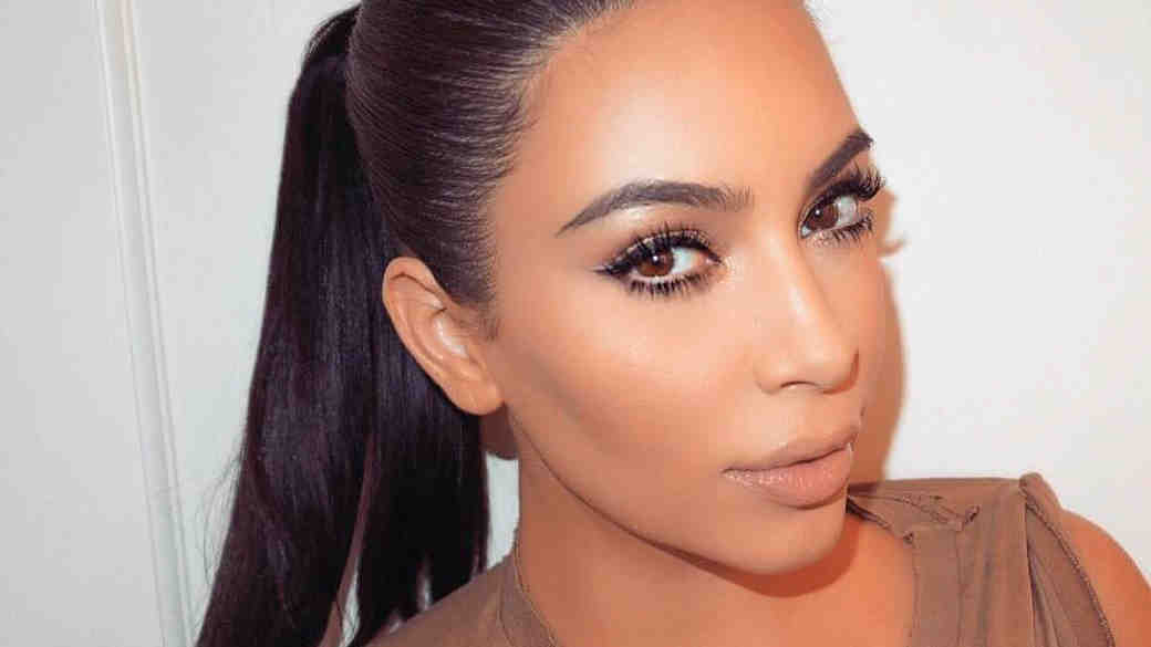 How to Get Hair Like Kim Kardashian for Your Wedding!
