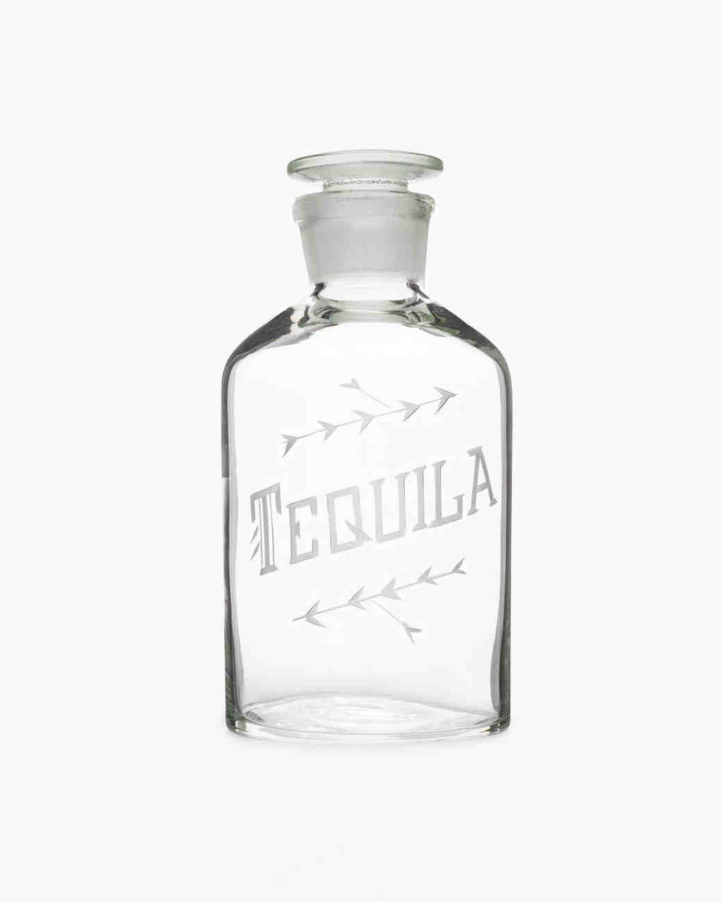 love victory tequila decanter