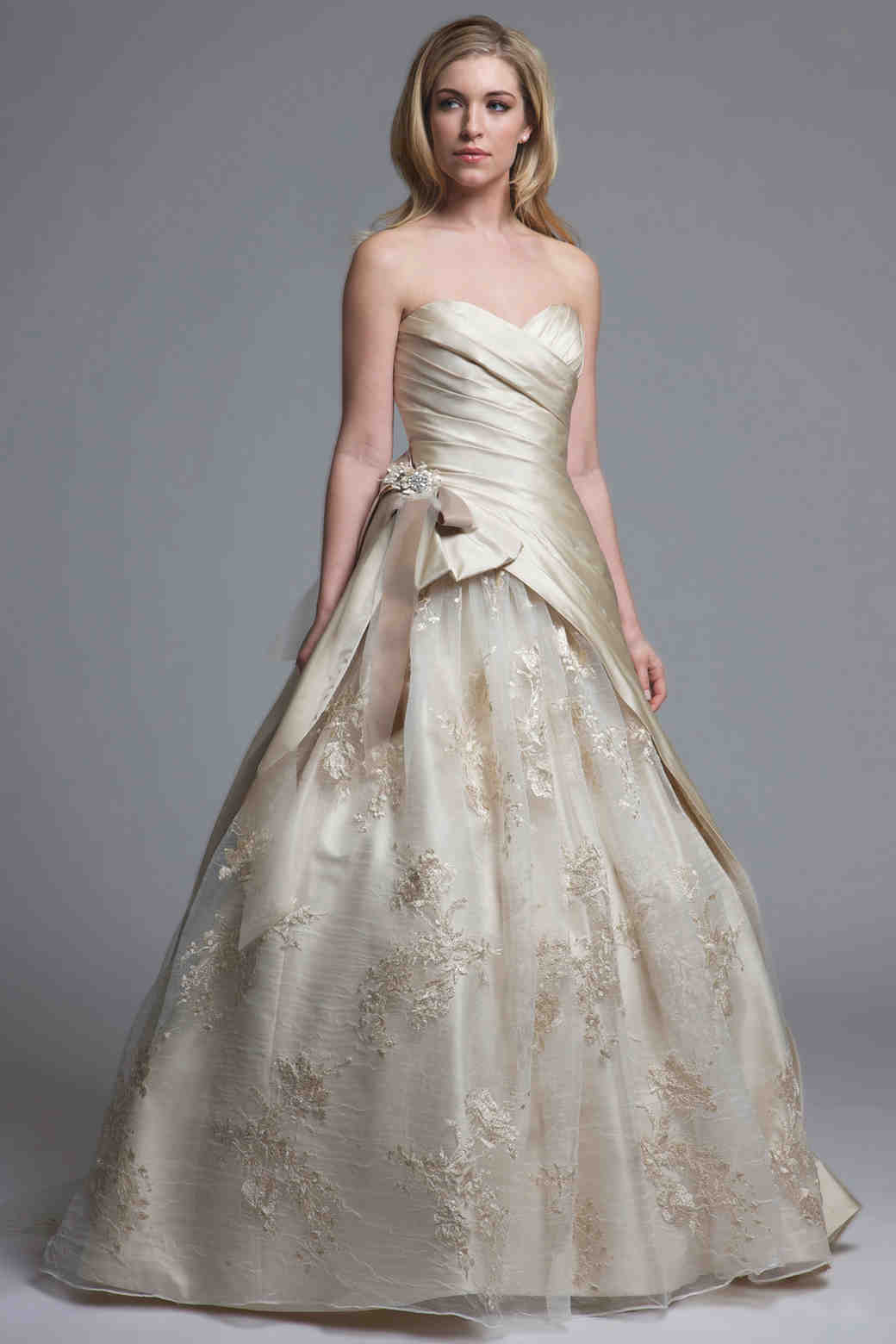 beach wedding dresses beachy wedding dress Ball Gown Wedding Dresses from Spring Bridal Fashion Week