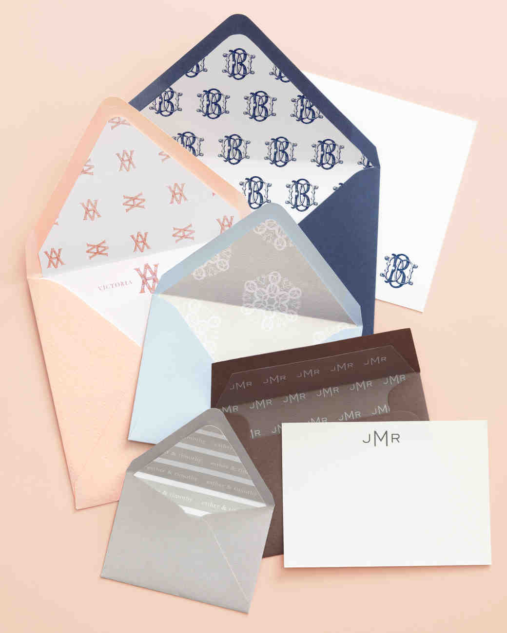 Wedding Invitation Envelope Liner How-To | Martha Stewart Weddings