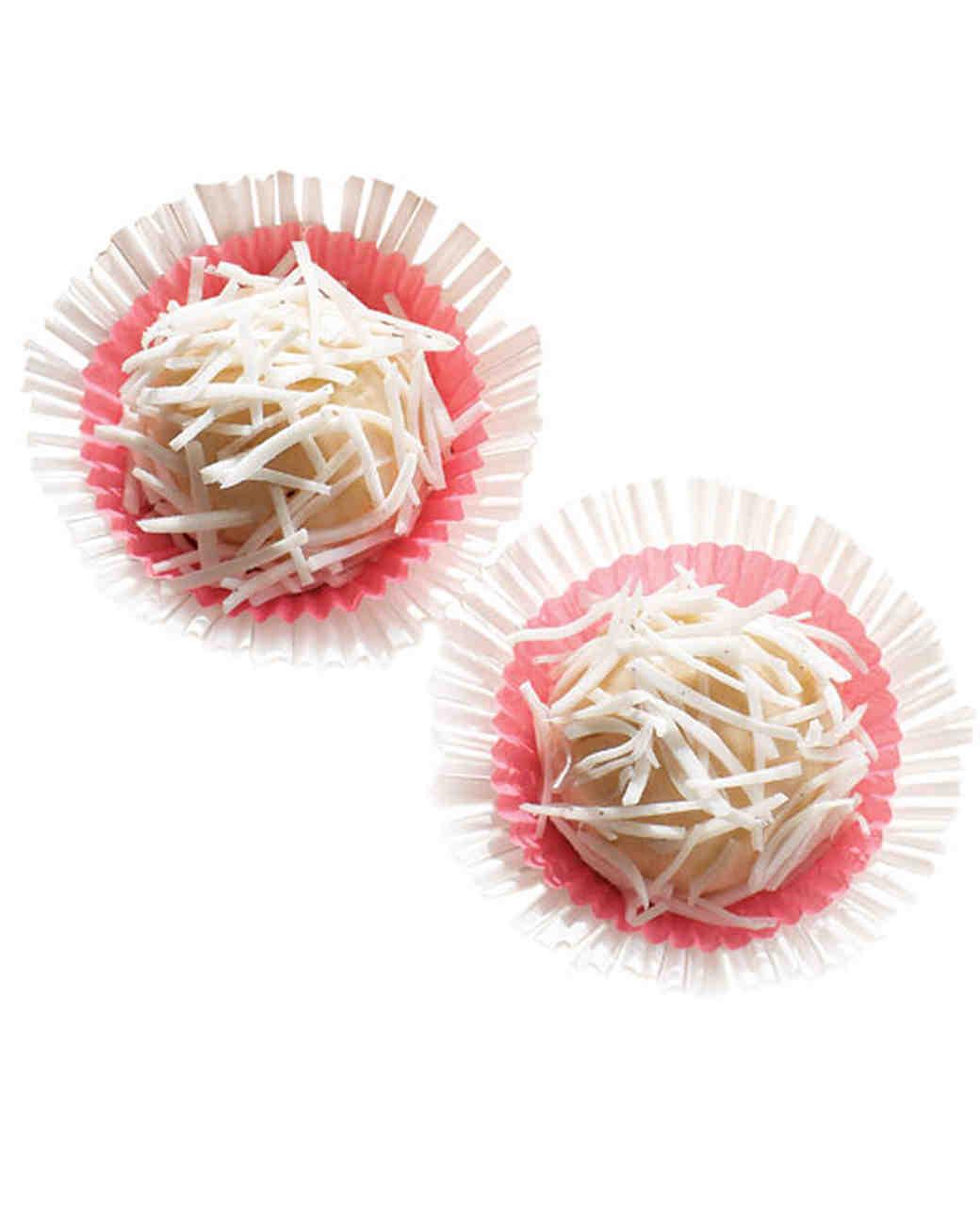 Wedding Cake Cookies Martha Stewart: Coconut-Coated Cookie Recipe