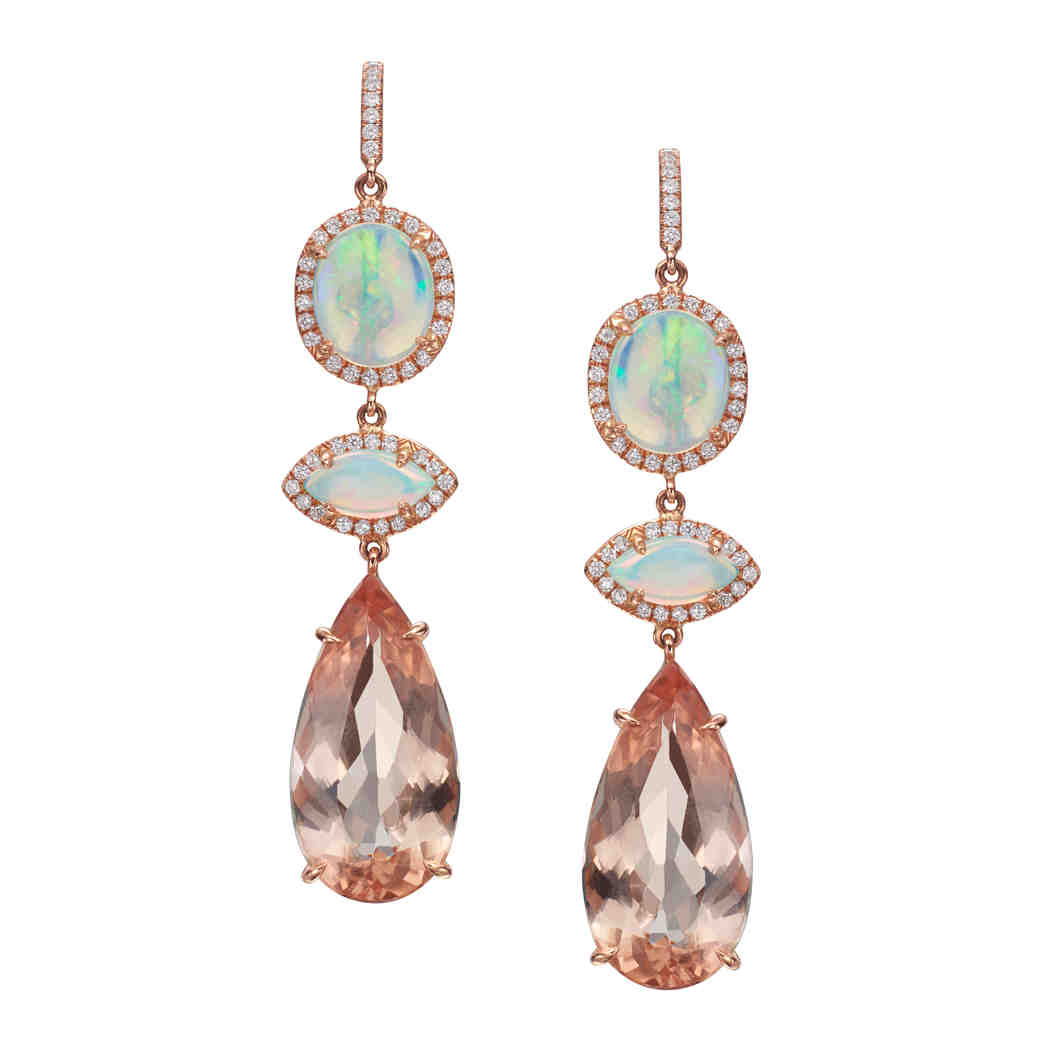 21 White Opal Jewelry Pieces That Will Make You Shine on Your Wedding Day